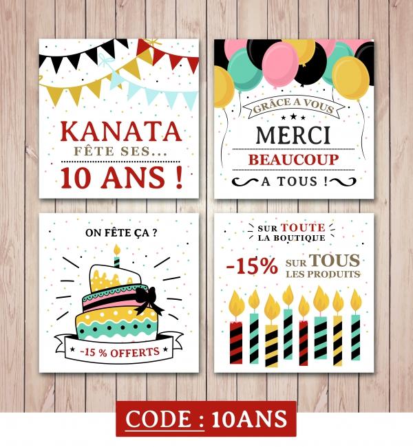 KANATA fête ses 10 ans !!! #anniversaire